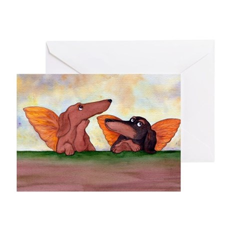 Raphael Doxies Greeting Cards (Package o