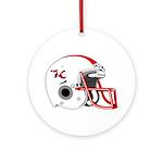 Lakeland Football Ornament (Round)