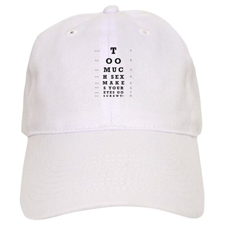 """Too Much Sex"" Cap"