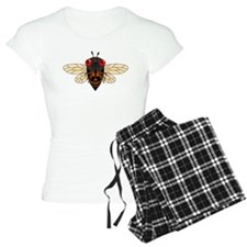 Cute Cartoon Cicada Pajamas