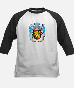 Matthew Coat of Arms - Family Cres Baseball Jersey