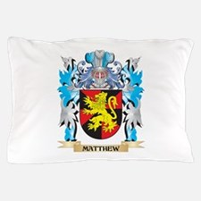 Matthew Coat of Arms - Family Crest Pillow Case