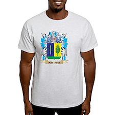 Matthias Coat of Arms - Family Cres T-Shirt