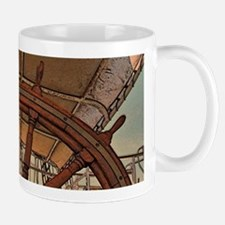 The Ships Wheel Mugs