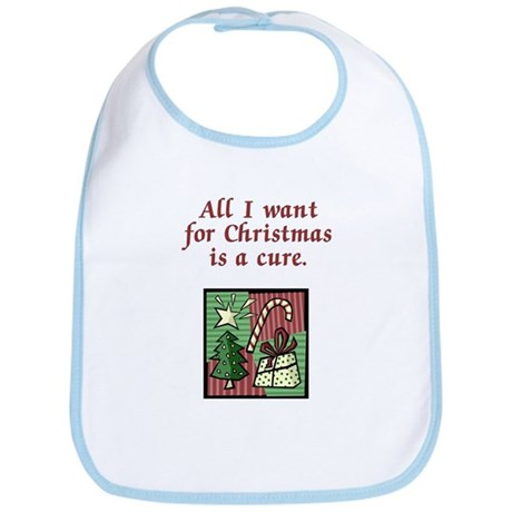 Holiday Cure Bib