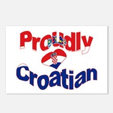 Proudly Croatian Postcards (Package of 8)