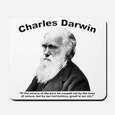 Darwin: Poor Mousepad