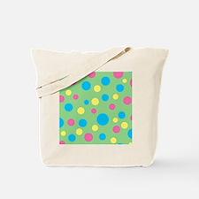 Funny Polka dot Tote Bag