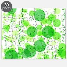 Bubbles Green Puzzle