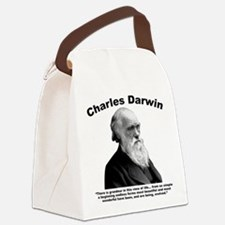 Darwin: Evolved Canvas Lunch Bag