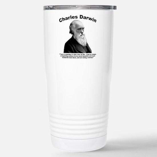 Darwin: Evolved Stainless Steel Travel Mug