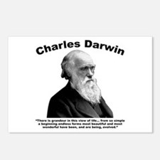 Darwin: Evolved Postcards (Package of 8)