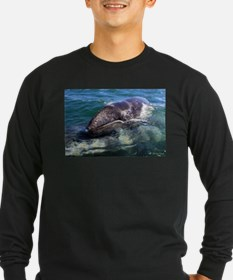 Gray Whale Baby Long Sleeve T-Shirt