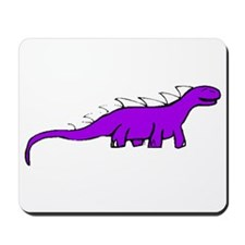 Purple Dinosaur Mousepad