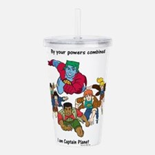 Captain Planet Acrylic Double-Wall Tumbler