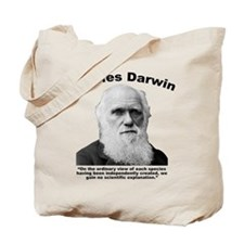 Darwin: Created Tote Bag