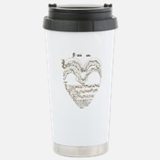 Bell Bonne Sage Heart M Stainless Steel Travel Mug