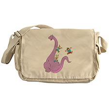 Dinosaur Slide Messenger Bag