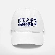 CRASS University Baseball Baseball Cap