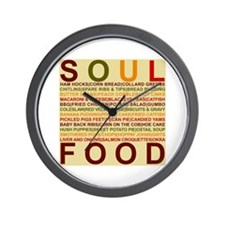Soul_food_all.png Wall Clock