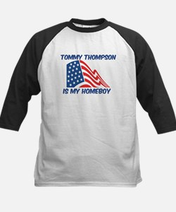 TOMMY THOMPSON is my homeboy Kids Baseball Jersey