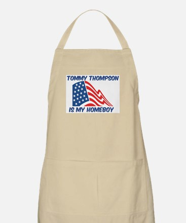 TOMMY THOMPSON is my homeboy BBQ Apron