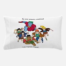 Captain Planet quote.png Pillow Case