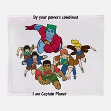 Captain Planet quote.png Throw Blanket