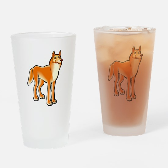 Dingo Drinking Glass