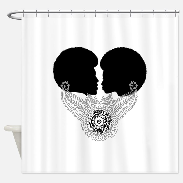 African American Man Shower Curtains | African American ...