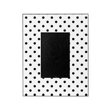 Cute Black and white polka dot Picture Frame