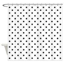 Cute Polka dot Shower Curtain