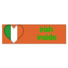irish inside bumper sticker