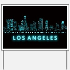Digital Los Angeles Yard Sign