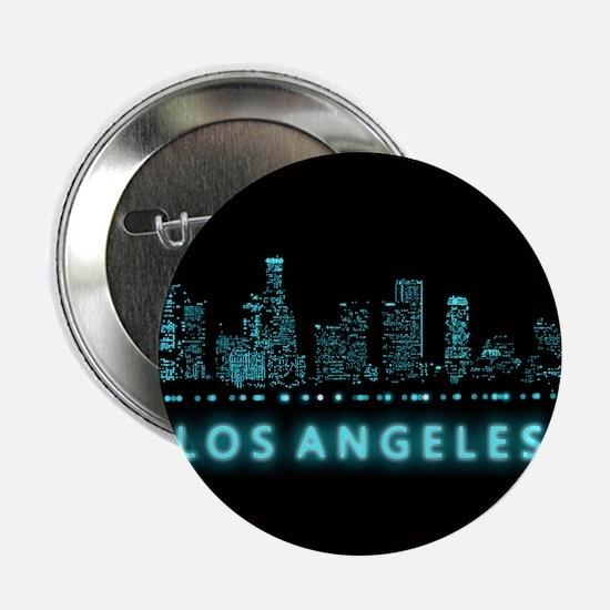 "Digital Cityscape: Los Ange 2.25"" Button (10 pack)"