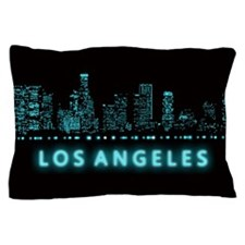 Digital Los Angeles Pillow Case