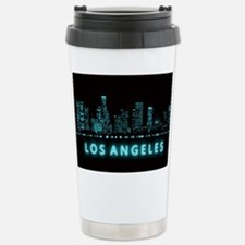 Digital Cityscape: Los Travel Mug