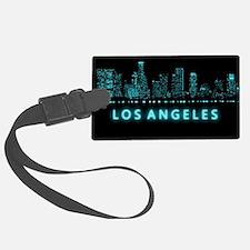 Digital Cityscape: Los Angeles, Luggage Tag