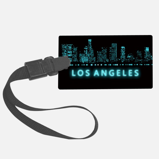 Digital Cityscape: Los Angeles, Luggage Tag