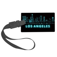 Digital Los Angeles Luggage Tag