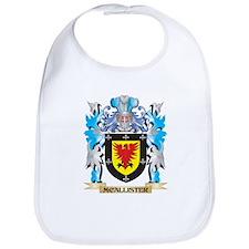 Mcallister Coat of Arms - Family Crest Bib