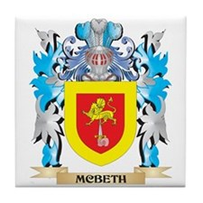 Mcbeth Coat of Arms - Family Crest Tile Coaster