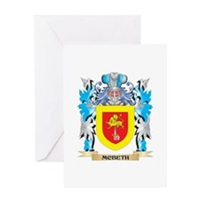 Mcbeth Coat of Arms - Family Crest Greeting Cards