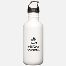 Keep calm we live in C Water Bottle
