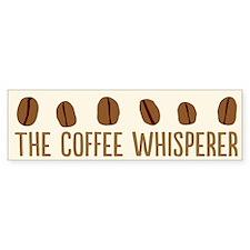 The Coffee Whisperer Bumper Bumper Sticker