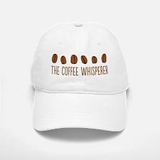 The Coffee Whisperer Baseball Baseball Cap