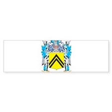 Mcclellan Coat of Arms - Family Cre Bumper Bumper Sticker