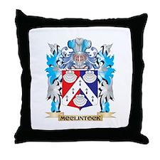 Mcclintock Coat of Arms - Family Cres Throw Pillow