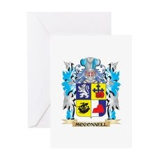 Mcconnell Coat of Arms - Family Cre Greeting Cards