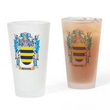 Mccool Coat of Arms - Family Crest Drinking Glass